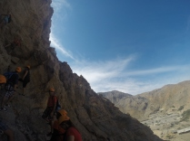 Canyoning at Challenging Adventure Ras Al Khaimah UAE