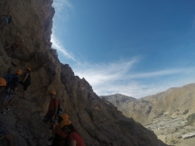 Canyoning at Challenging Adventure Ras Al Khaimah UAE